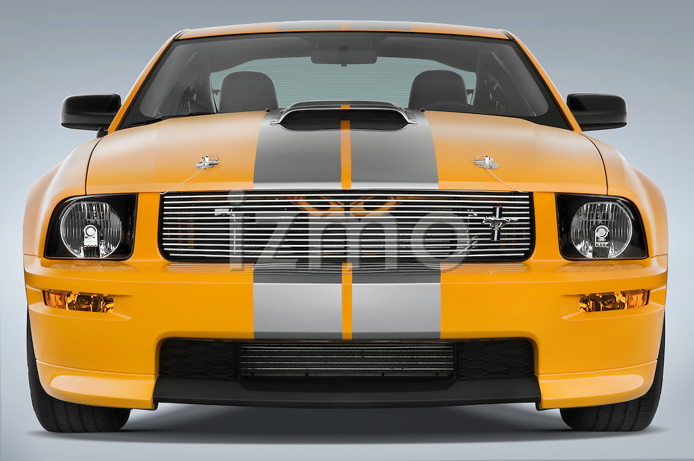 Straight front view of a 2008 Ford Shelby Coupe
