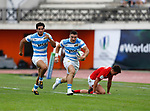 Mateo Carreras, Wales v Argentina, Stade D'Honneur du Parc des Sports et de L'Amitie, Narbonne France. World Rugby U20 Championship 2018. Photo Martin Seras Lima