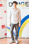 """Javier Calvo attends to the photocall of the presentation of conferences """"Series juveniles que marcaron una generacion"""" by Dirige Association in Madrid, Spain. March 27, 2017. (ALTERPHOTOS/BorjaB.Hojas)"""