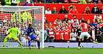 Juan Mata of Manchester United scores his sides second goal during the Premier League match at Old Trafford Stadium, Manchester. Picture date: September 24th, 2016. Pic Sportimage