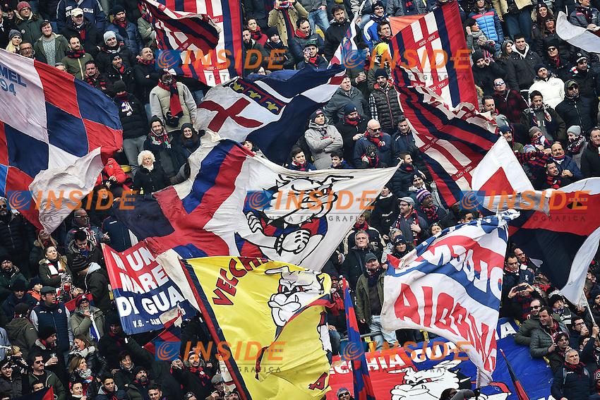Tifosi Bologna Supporters <br /> Bologna 06-12-2015 Stadio Dall'Ara Football Calcio 2015/2016 Serie A Bologna - Napoli Foto Andrea Staccioli / Insidefoto
