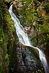 Proteus Fall, Triple Falls Trail, Dolly Copp area, White Mountain National Forest, NH, USA