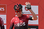 Chris Froome (GBR) Team Ineos at sign on before Stage 1 of the UAE Tour 2020 running 148km from The Pointe to Dubai Silicon Oasis, Dubai. 23rd February 2020.<br /> Picture: LaPresse/Fabio Ferrari | Cyclefile<br /> <br /> All photos usage must carry mandatory copyright credit (© Cyclefile | LaPresse/Fabio Ferrari)