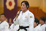 Haruka Tachimoto (JPN), <br /> JULY 27, 2016 - Judo : <br /> Japan national team Send-off Party for Rio Olympic Games 2016 <br /> &amp; Paralympic Games <br /> at Kodokan, Tokyo, Japan. <br /> (Photo by AFLO SPORT)