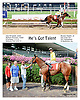 He's Got Talent winning at Delaware Park on 8/6/14