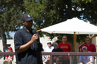 Stanford CA - August 16, 2014.  Stanford Football Fall Open House, Practice at Elliott Fields