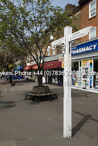 Dulwich Village, South London SE21 London UK 2008.
