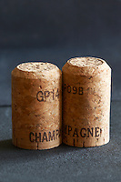 champagne cork before put in bottle