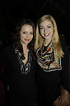 Sasha Cohen & Gracie Gold at Skating with the Stars - a benefit gala for Figure Skating in Harlem in its 17th year is celebrated with many US, World and Olympic Skaters honoring Michelle Kwan and Jeff Treedy on April 7, 2014 at Trump Rink, Central Park, New York City, New York. (Photo by Sue Coflin/Max Photos)