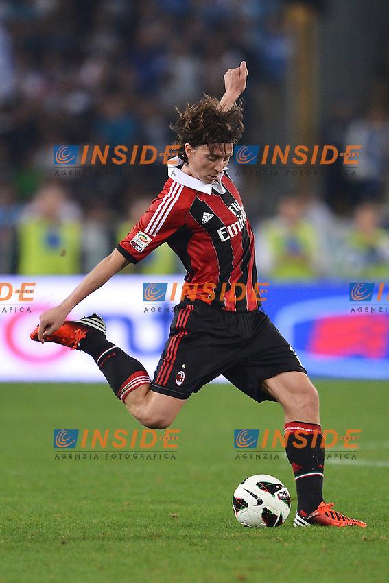 "Riccardo Montolivo Milan.Roma 20/10/2012 Stadio ""Olimpico"".Football Calcio 2012/2013 Serie A.Lazio Vs Milan.Foto Andrea Staccioli Insidefoto"