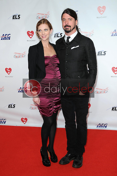 Jordyn Blum and Dave Grohl<br />