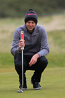 Ashley Chesters (ENG) on the 15th green during round 4 of the Alfred Dunhill Links Championship at Old Course St. Andrew's, Fife, Scotland. 07/10/2018.<br /> Picture Thos Caffrey / Golffile.ie<br /> <br /> All photo usage must carry mandatory copyright credit (&copy; Golffile | Thos Caffrey)