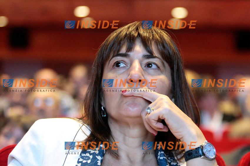 Renata Polverini.Roma 08/05/2012 Celebrazione del 120° anniversario della Camera del Lavoro di Roma..Photo Samantha Zucchi Insidefoto