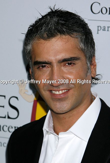 "HOLLYWOOD, CA. - October 07: Alejandro Fernandez arrives at the Padres Contra El Cancer's 8th Annual ""El Sueno De Esperanza"" Benefit Gala at the Hollywood & Highland Center on October 7, 2008 in Hollywood, California."