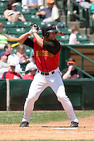 Rochester Red Wings Andres Torres during an International League game at Frontier Field on June 6, 2006 in Rochester, New York.  (Mike Janes/Four Seam Images)