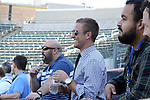 06 December 2014: ESPN broadcaster Taylor Twellman. Major League Soccer held a training sessions at the StubHub Center in Carson, California one day before the Los Angeles Galaxy hosted the New England Revolution in MLS Cup 2014.