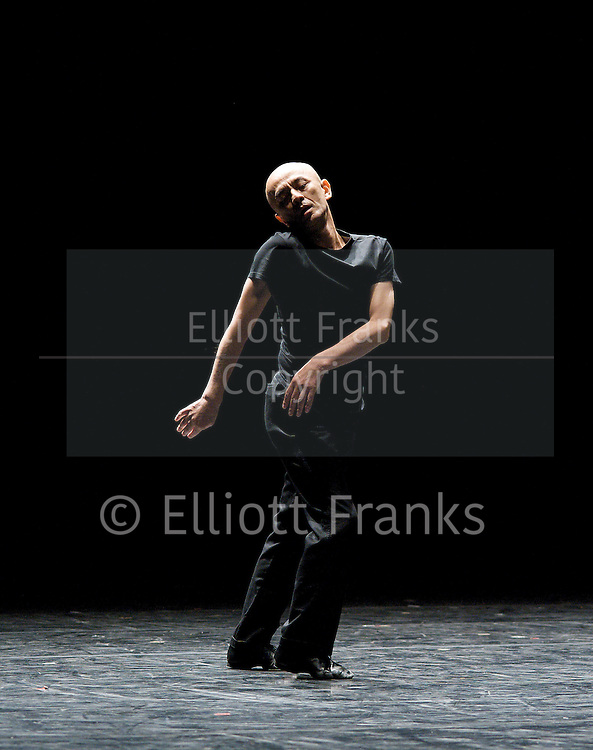 Saburo Teshigawara's 'KARAS' <br /> Mirror &amp; Music <br /> <br /> UK Premier<br /> <br /> at Sadler's Wells, London, Great Britain <br /> Press Photocall<br /> <br /> 14th June 2011<br /> <br /> Choreography by Saburo Teshigawara<br /> <br /> <br /> Saburo Teshigawara<br /> <br /> <br /> THESE IMAGES ARE NOT AVAILABLE TO EITHER DOWNLOAD OR BUY PRINTS,  SORRY. <br /> <br /> Photograph by Elliott Franks