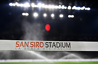 A San siro stadium tape is seen prior to the Serie A 2018/2019 football match between AC Milan and FC Internazionale at stadio Giuseppe Meazza, Milano, March 17, 2019 <br /> Photo Andrea Staccioli / Insidefoto