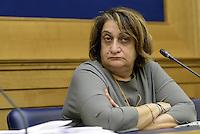Roma, 5 Agosto 2015<br /> Rosaria Capacchione.<br /> Camera dei Deputati.<br /> La commissione antimafia presenta alla stampa la relazione sui giornalisti minacciati