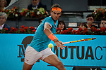 Rafael Nadal during the Mutua Madrid Open Masters match on day eight at Caja Magica in Madrid, Spain.May 11, 2019. (ALTERPHOTOS/A. Perez Meca)