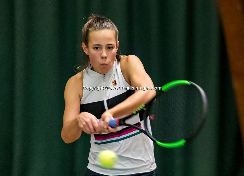 Wateringen, The Netherlands, November 27 2019, De Rhijenhof , NOJK 12 and16 years, Veerle Tibben (NED)<br /> Photo: www.tennisimages.com/Henk Koster