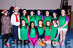 Colaiste Gleann Li girls basketball team at the Castleisland Community Centre for ETB Girls Basketball blitz..Kneeing l-r, Aine O&rsquo;Connor, Michelle Sinani, Closei O&rsquo;Mahoney?, Ellie Fitzgerald and Naiara Quiros.<br /> Back l-r, Nina Mansfield, John Creagh, Sabrina Isufi, Caitlin O&rsquo;Connell, Kate Kearney, Lea Williams Morgan, Karlina Szlapka and Laurence Smith.