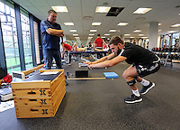Pictured: Angel Rangel Sunday 28 June 2015<br />