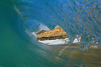 Breaking wave at Sandy Beach, O'ahu