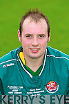 Diarmuid McKenna of the Crotta O'Neills hurling club.