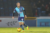 Michael Harriman of Wycombe Wanderers during the Sky Bet League 2 match between Wycombe Wanderers and Leyton Orient at Adams Park, High Wycombe, England on 17 December 2016. Photo by David Horn / PRiME Media Images.