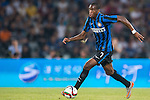 Geoffrey Kondogbia of FC Internazionale Milano in action during the AC Milan vs FC Internazionale Milano as part of the International Champions Cup 2015 at the Longgang Stadium on 25 July 2015 in Shenzhen, China. Photo by Aitor Alcalde / Power Sport Images