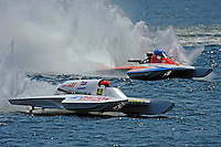 "Cal Phipps, GNH-41  and Joe Kreitzer, GNH-515 ""One Way""  (Grand National Hydroplane(s)"