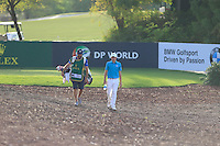 Matthew Fitzpatrick (ENG) on the 13th tee during the Pro-Am for the DP World Tour Championship at the Jumeirah Golf Estates in Dubai, UAE on Monday 16/11/15.<br /> Picture: Golffile | Thos Caffrey<br /> <br /> All photo usage must carry mandatory copyright credit (© Golffile | Thos Caffrey)
