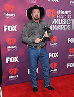 14 March 2019 - Los Angeles, California - Garth Brooks. 2019 iHeart Radio Music Awards - Press Room held at Microsoft Theater. Photo Credit: Birdie Thompson/AdMedia