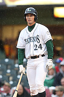April 20, 2010: Jacob Goebbert (24 ) of the Lexington Legends at Applebee's Park in Lexington, KY. The Legends are the Class A affiliate of the Houston Astros. Photo by: Chris Proctor/Four Seam Images