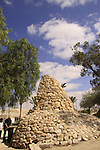 Israel, Negev, the Palmach memorial in Bir Asluj