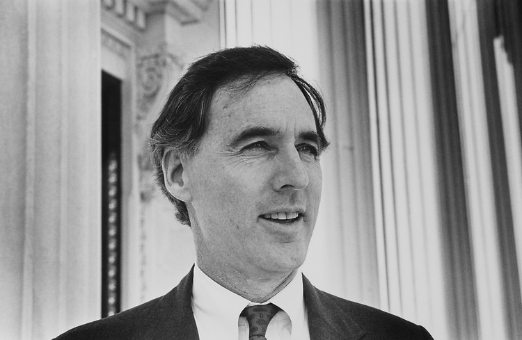 Rep. Cliff Stearns, R-Fla., on Oct. 25, 1990. (Photo by Laura Patterson/CQ Roll Call)