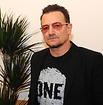 Bono pictured in the ante room prior to adddressing the EPP Congress in the Dublin Conference Centre on Friday.<br /> Picture by Sally MacMonagle<br /> <br /> <br /> Photo from EPP congress repro free