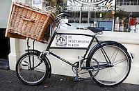 Fiets van de Vegetarische Slager in Den Haag