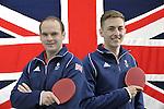 19/05/2016 - TeamGB table tennis athlete announcement - Milton Keynes - UK