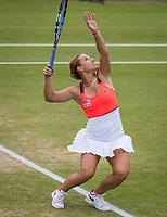 Den Bosch, Netherlands, 17 June, 2017, Tennis, Ricoh Open,  Woman's doubles Final : Dominika Cibulkova (SVK) <br /> Photo: Henk Koster/tennisimages.com