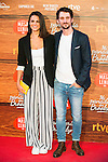 "Raul Arevalo and his girlfriend attends to the premiere of the spanish film ""Mi Panaderia en Brooklyn"" at Cines Capitol in Madrid. June 30 2016. (ALTERPHOTOS/Borja B.Hojas)"