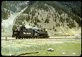 D&amp;RGW #473 at Silverton, CO.<br /> D&amp;RGW  Silverton, CO