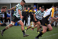 Action from the Wellington Jubilee Cup premier club rugby final between Old Boys University and Northern United at Petone Rec in Petone, New Zealand on Saturday, 4 August 2018. Photo: Dave Lintott / lintottphoto.co.nz