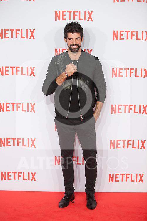 Miguel Angel Munoz attends Netflix presentation in Madrid, Spain. October 20, 2015. (ALTERPHOTOS/Victor Blanco)