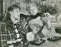Gigi (1958) <br /> Leslie Caron &amp; Isabel Jeans<br /> *Filmstill - Editorial Use Only*<br /> CAP/MFS<br /> Image supplied by Capital Pictures