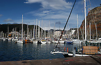 San Sebastian harbour in the Canarian island of La Gomera, Canary Islands.