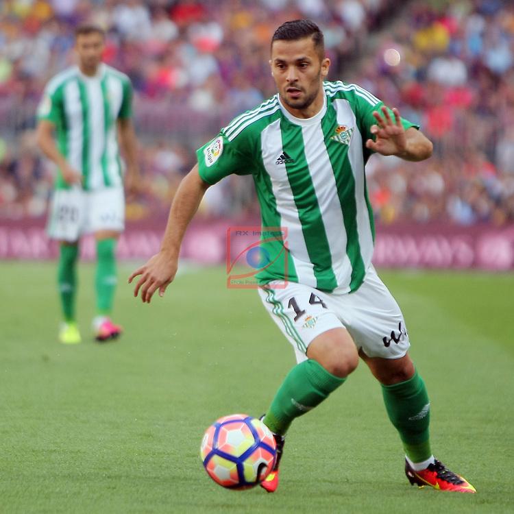 League Santander 2016/2017. Game: 1.<br /> FC Barcelona vs Real Betis: 6-2.<br /> Durmisi.