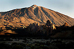 Early morning Mount Teide.Parque nacional de las Cañadas,Tenerife, Canary Islands, Spain