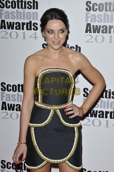 LONDON, ENGLAND - SEPTEMBER 01: Amy Macdonald attends the Scottish Fashion Awards 2014, 8 Northumberland Avenue, Northumberland Avenue, on Monday September 01, 2014 in London, England, UK. <br /> CAP/CAN<br /> &copy;Can Nguyen/Capital Pictures